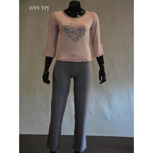 Dámské pyžamo 659 YPJ - CoCoon