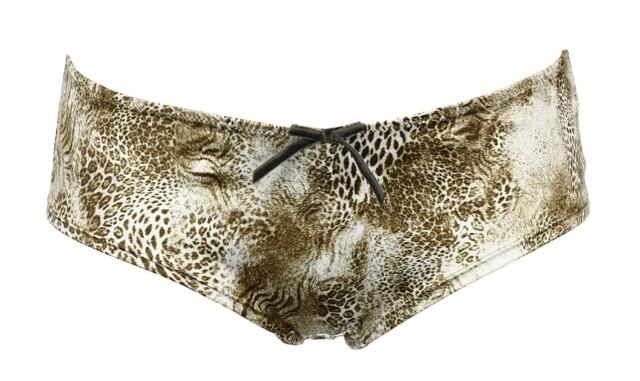 Kalhotky 1063B - Linga Dore - 40 - hnědá