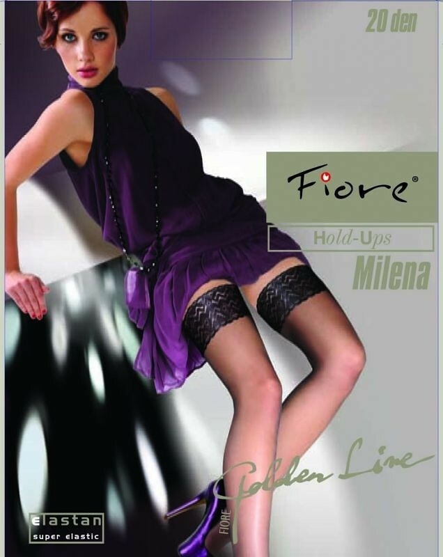 Punčochy Fiore | Milena 20 den - 2-S - černá