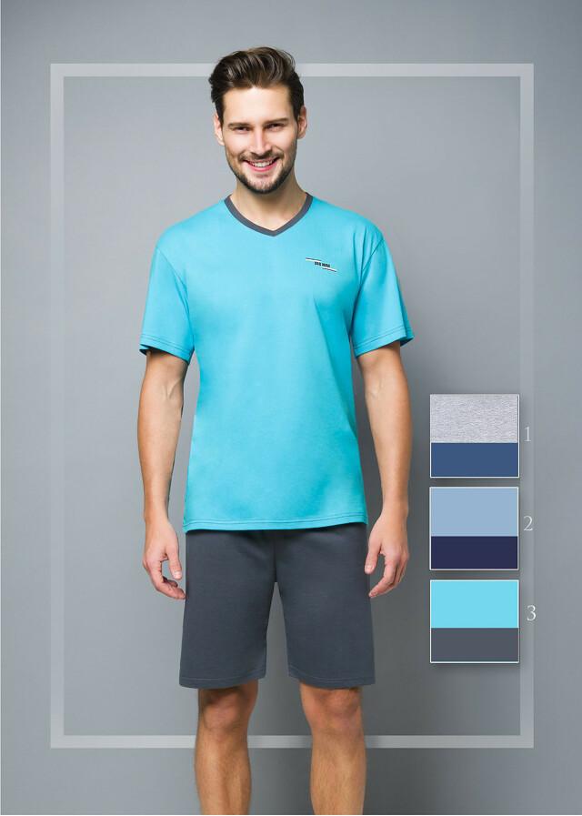 Pánské pyžamo Regina 524 kr/r 2XL