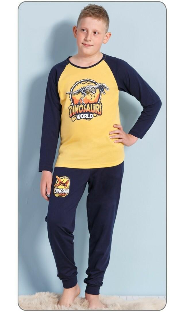 Dětské pyžamo dlouhé Dinosaurus