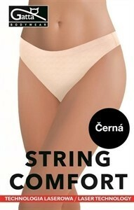 Bezešvé string comfort - Gatta - S - béžová