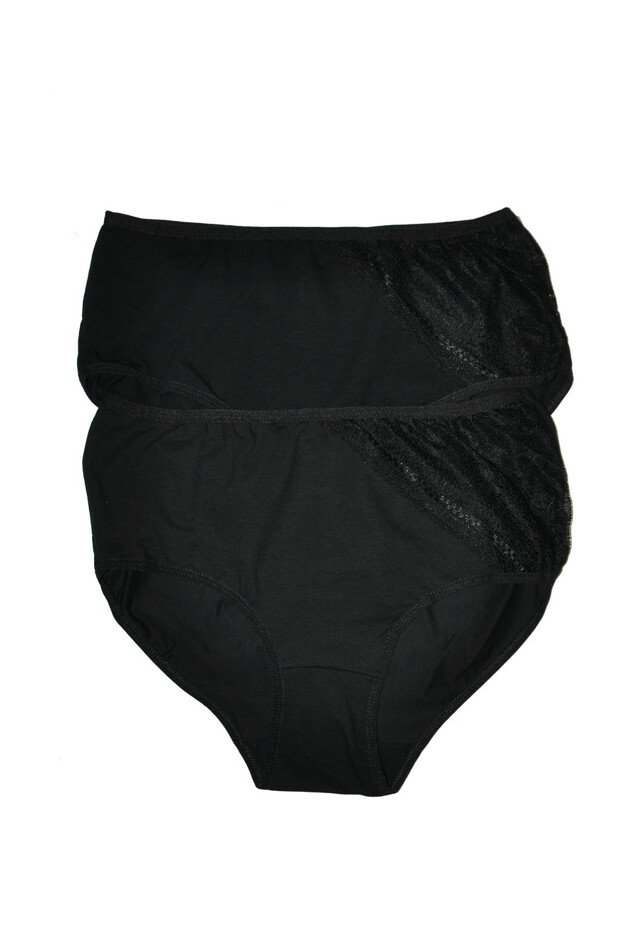 Klasické kalhotky Donella 2571QF61 /WZ.87 A'2 - XXL - černá