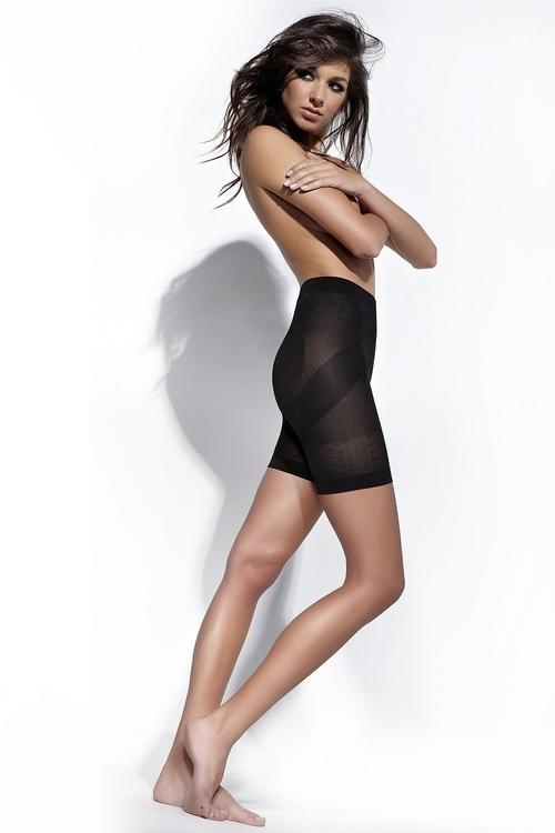 Stahovací kalhotky Fit Body beige - S - béžová