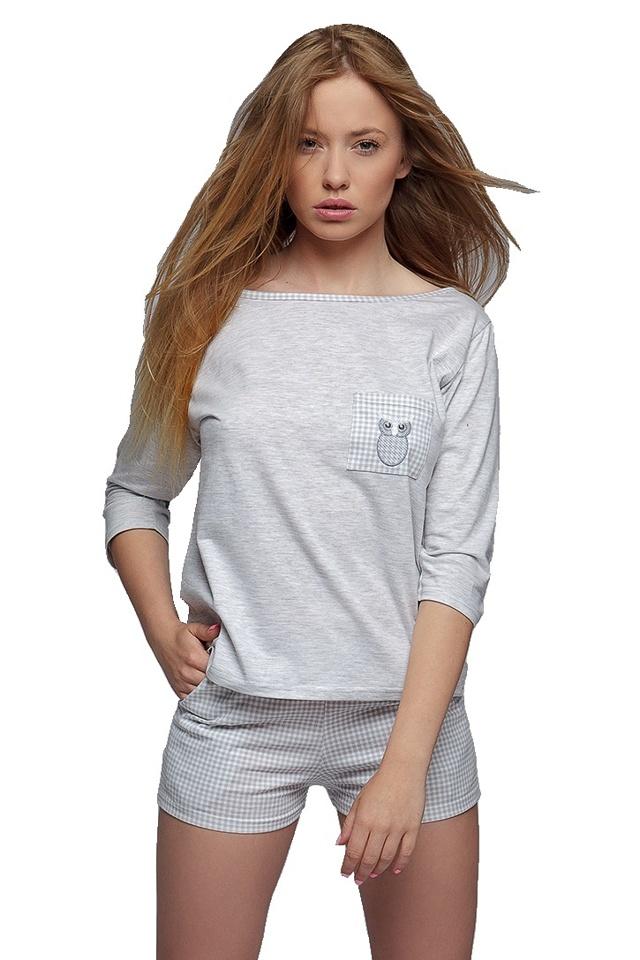 Dámské pyžamo Sova - S