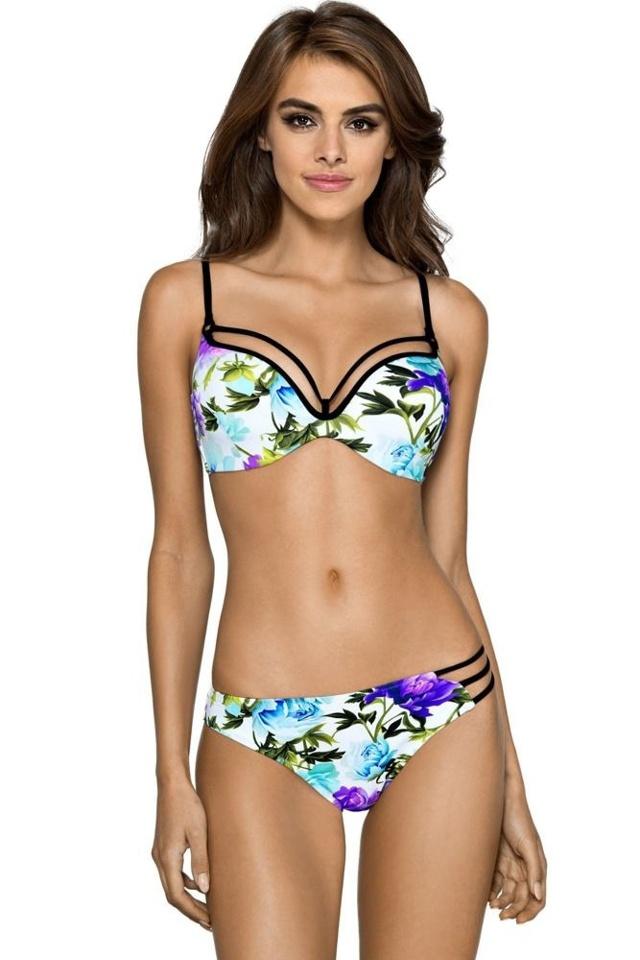 Dvoudílné plavky Olivia s květy