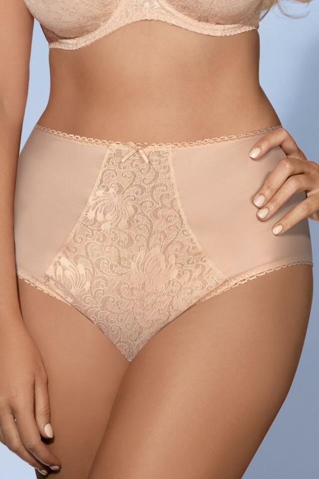 Kalhotky Kalhotky Ava 1209/W - 2XL - béžová