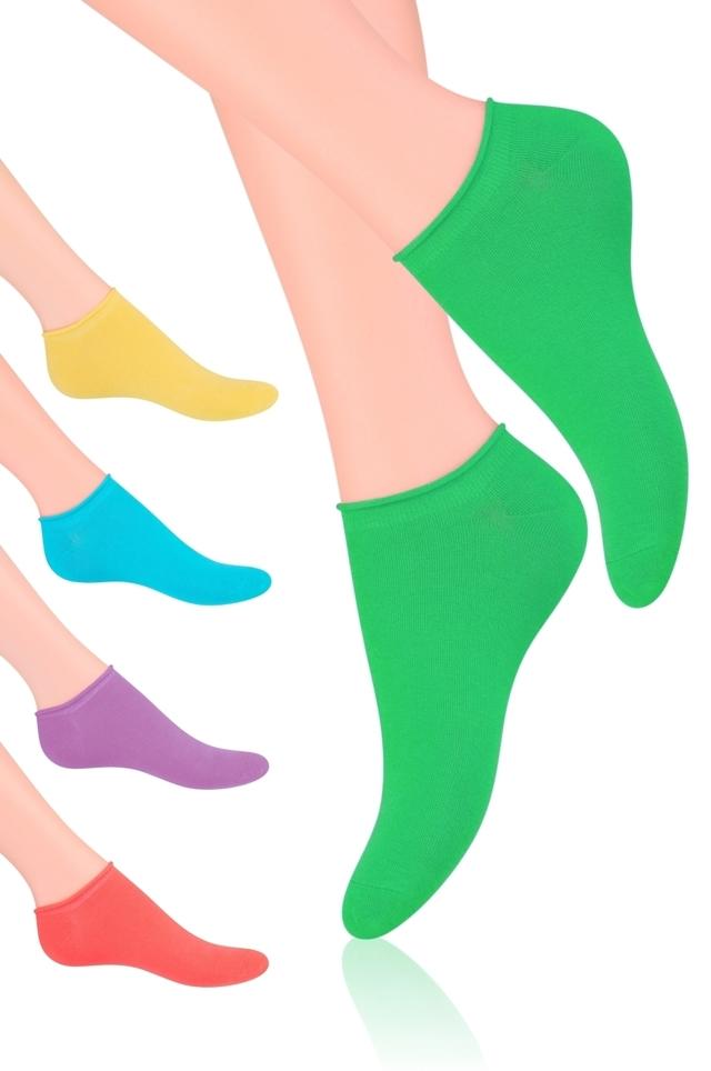 Dámské ponožky Steven art.041 - 38-40 - Žlutá