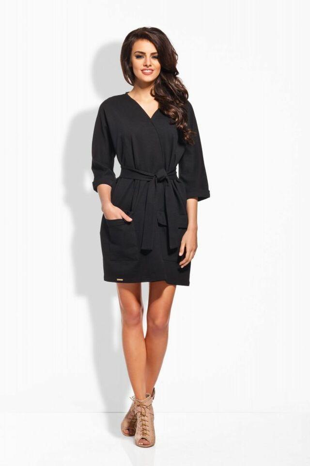 Dámské šaty L121 - Lemoniade - S - černá