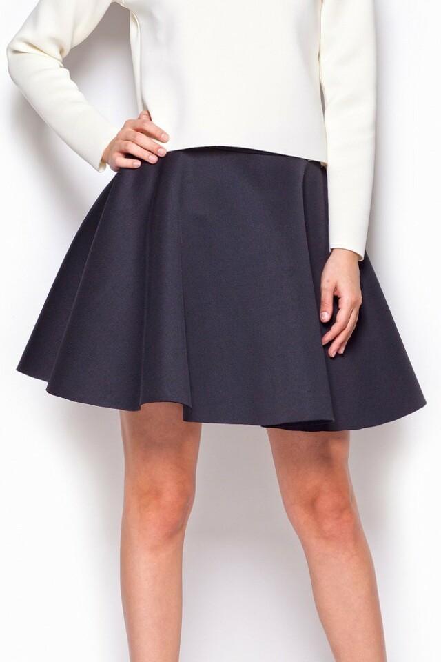 Dámská sukně M340 Figl - M - černá