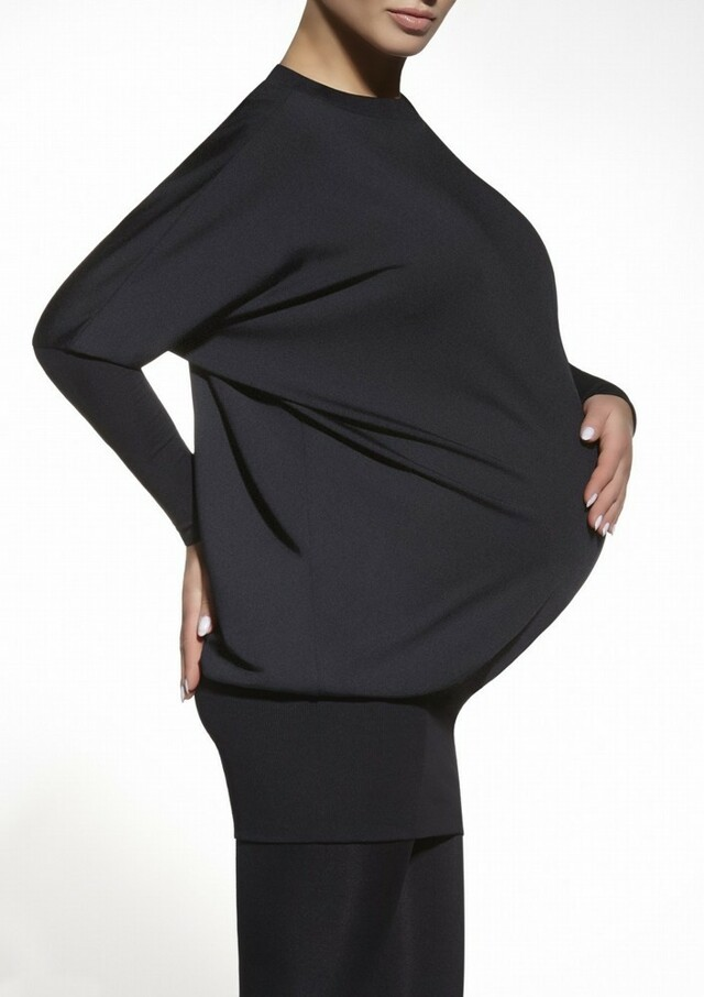 Tunika Emi - Bas Bleu - S - černá