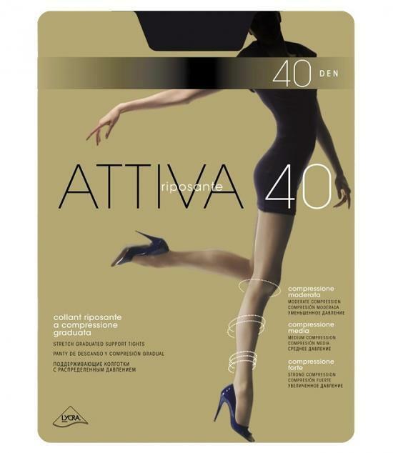 Punčochové kalhoty Attiva 40 den - Omsa