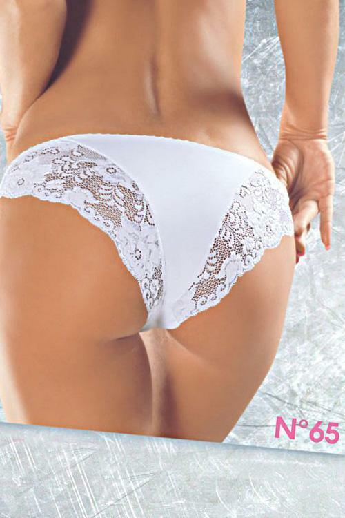 Dámské kalhotky 65 - M - bílá