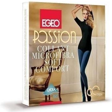 Punčochové kalhoty Passion Microfibra Soft Comfort 60 den - Egeo - L - mocca