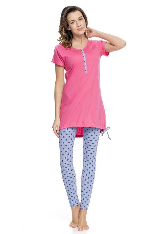 Dámské pyžamo Alaine s legínami - L