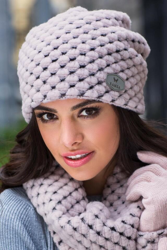 Dámská čepice Kamea Olivia - UNI - šedá