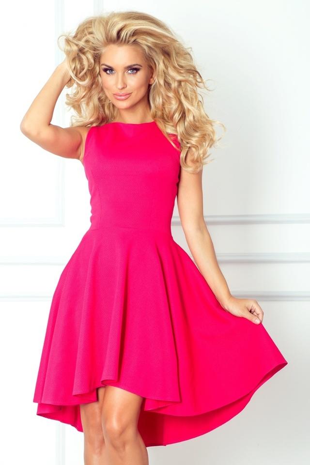 Společenské šaty SF 66-3 - Numoco - S - tmavě růžová