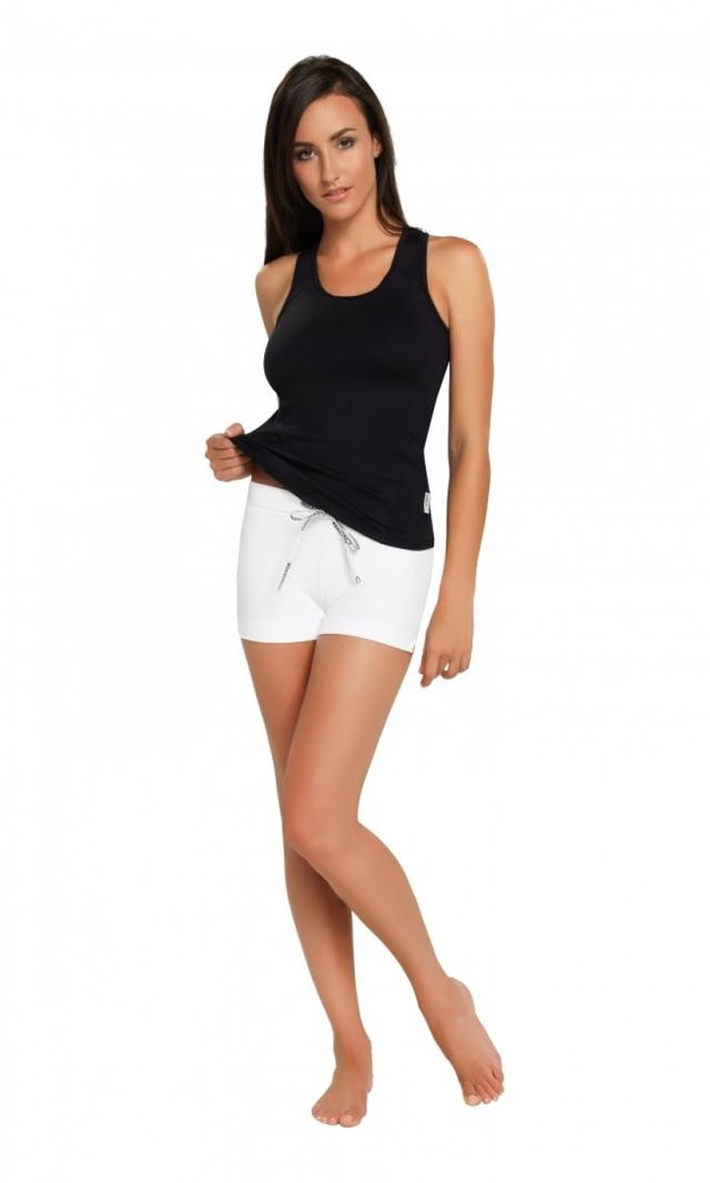 Fitness šortky Adela I nair - L - bílá