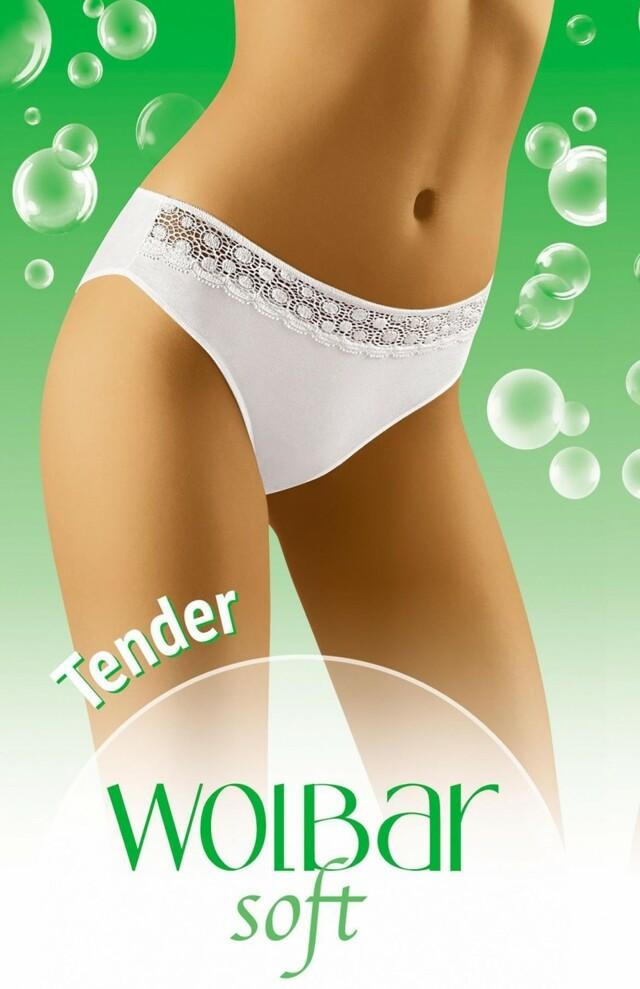 Dámské kalhotky Tender soft - XL - bílá