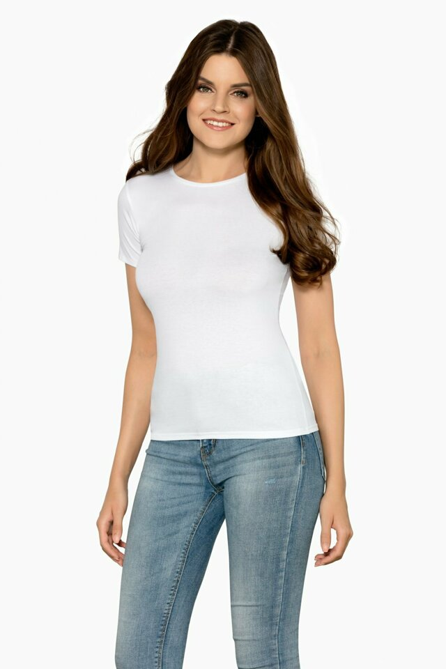 Dámské tričko Claudia white - BABELL - S - bílá