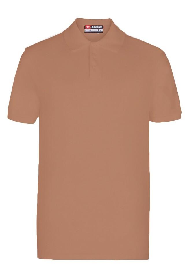 Pánské tričko 19406 brown