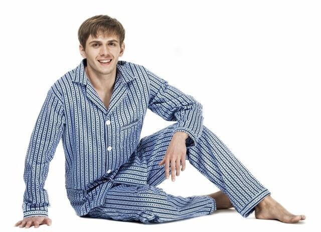 96703f607a71 Pánské pyžamo Kuba Flanela - - mix barev