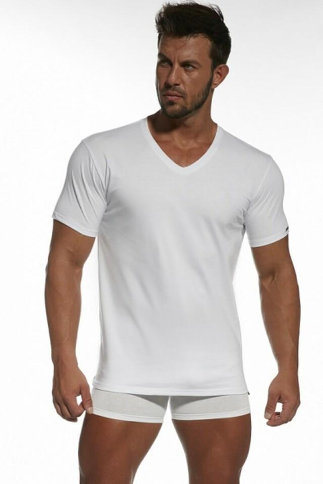 Pánské tričko Authentic 201 white