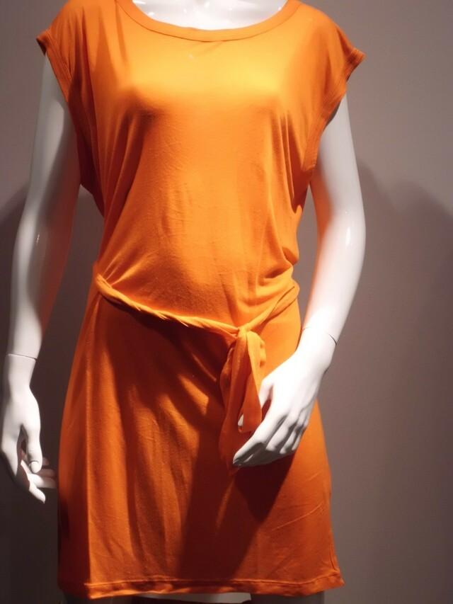 Dámské šaty 21Q669 - Rich Royal - M - oranžová