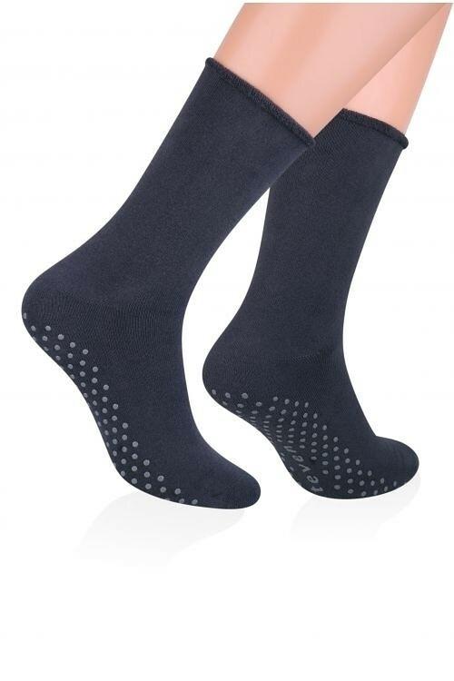 Pánské ponožky Steven frotte ABS art.013 - 41-43 - černá