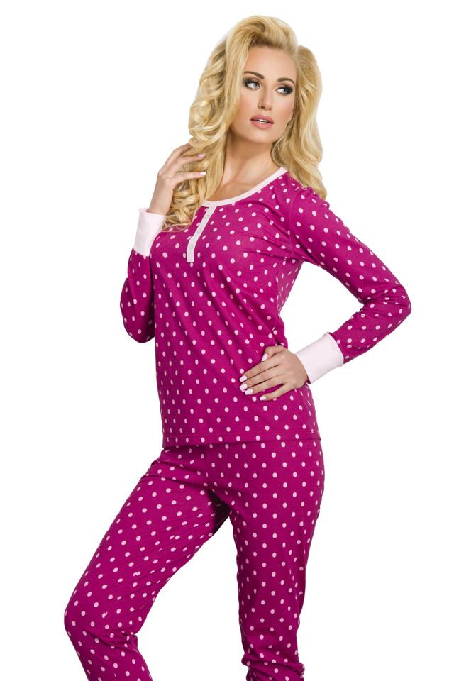 Dámské pyžamo Koko růžové - XL