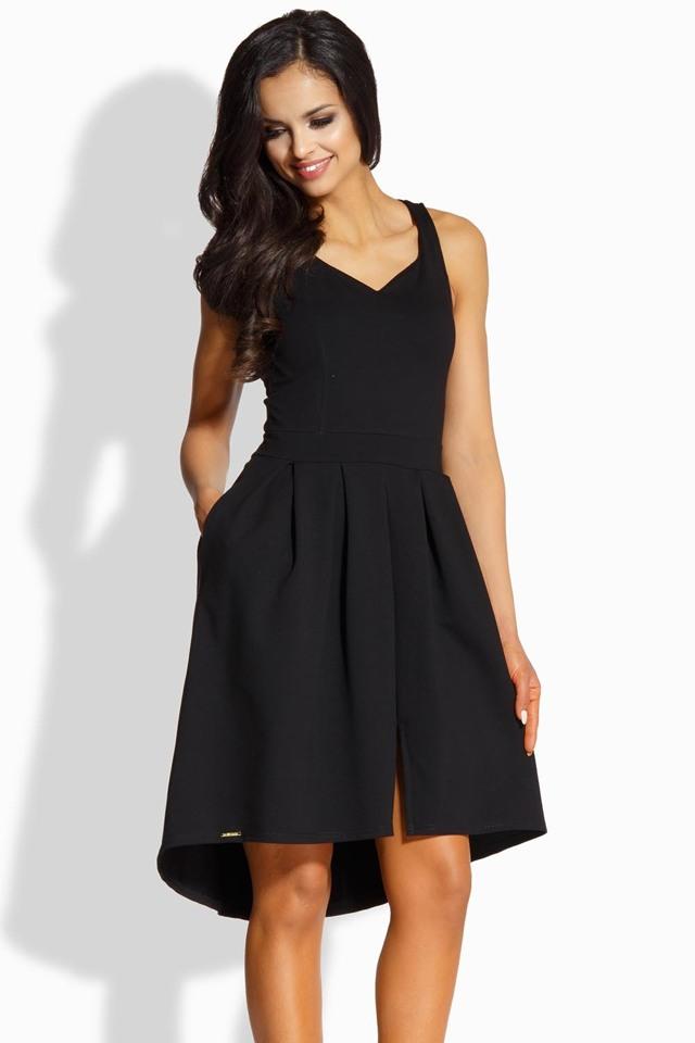 Dámské šaty L210 - Lemoniade - L - černá
