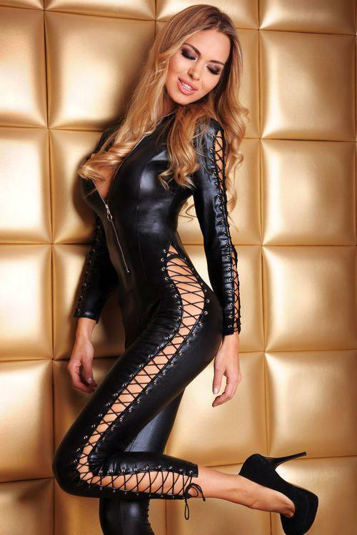 Erotický kostým Sheila - S/M - černá