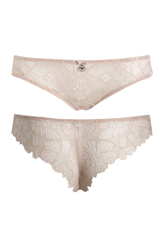 Kalhotky Lace 162948 CC204 03050 tělová - Emporio Armani
