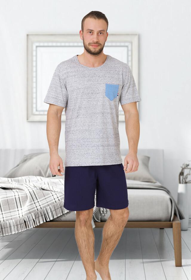 Pánské pyžamo M-Max Tymon 608 kr/r M-2XL