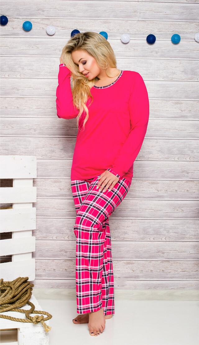 Dámské pyžamo Taro Ela 714 dl/r 2XL-3XL N
