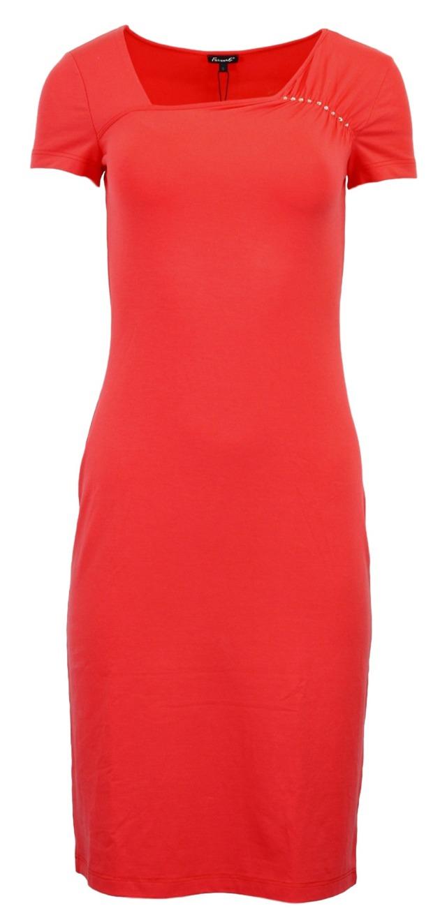 Dámské šaty Geta - Favab - XL - korálová