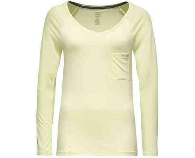 Dámské tričko QS5539E - Calvin Klein - XS - světlé zelená