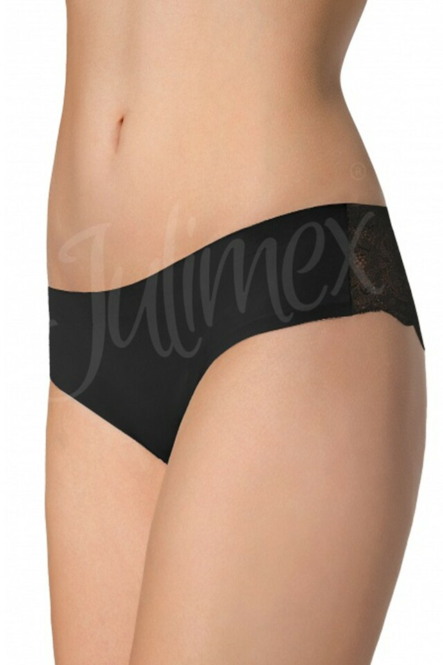 Dámské kalhotky Tanga black - S - černá