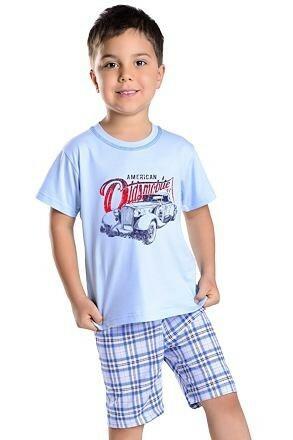 Chlapecké pyžamo Damián s autem
