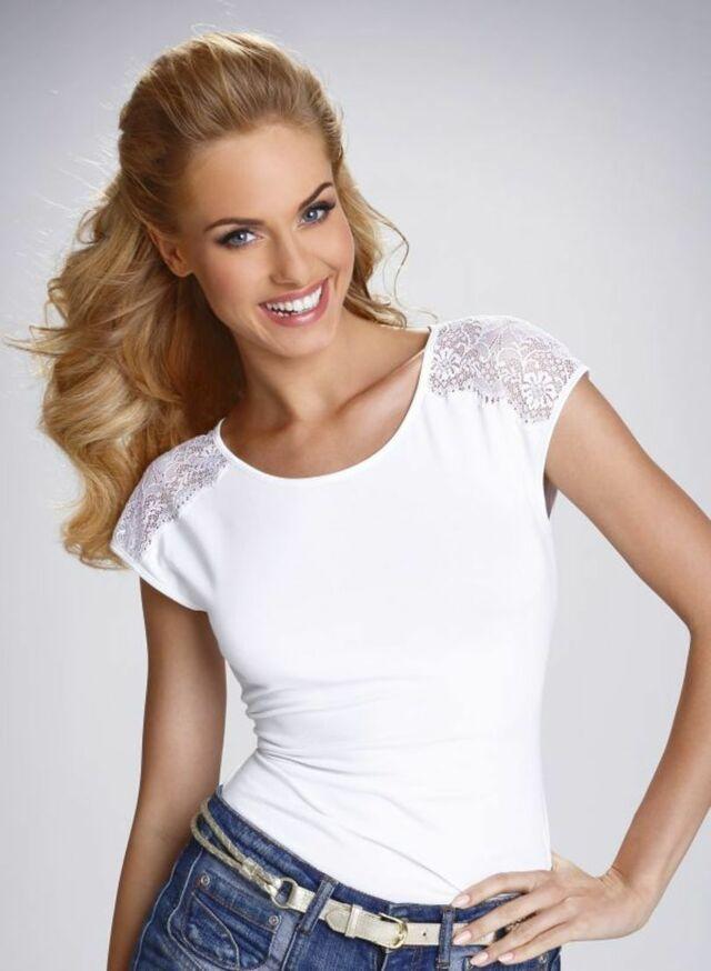 Dámské tričko ACTIVE TOSCA - ELDAR - bílá - L