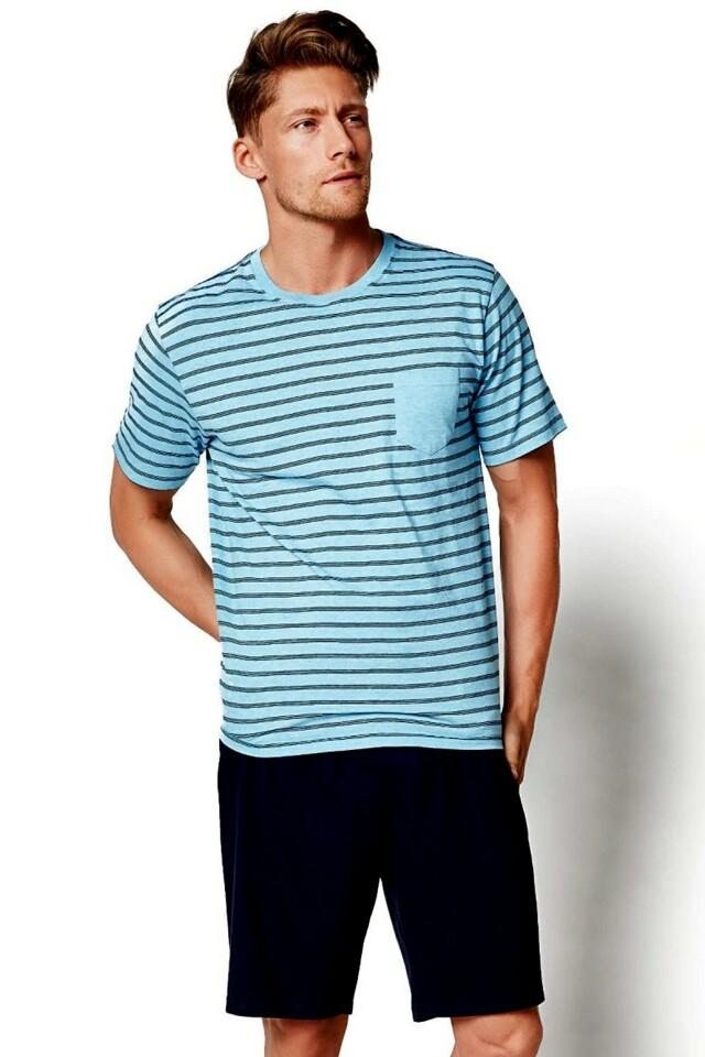 Pánské pyžamo 34982 blue