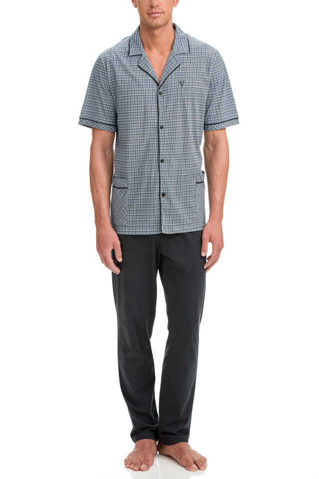 Vamp - Pánské pyžamo 12632 - Vamp - xxl