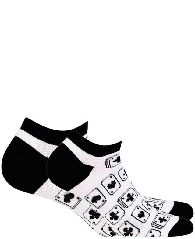 0659f5c39c5 Pánské kotníkové ponožky CASUAL - bílá - 45 47