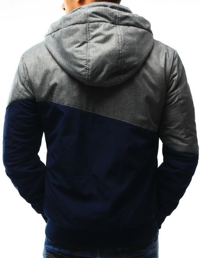 Tmavě modrá pánská přechodová bunda TL-173 tx1894 VD Fashion
