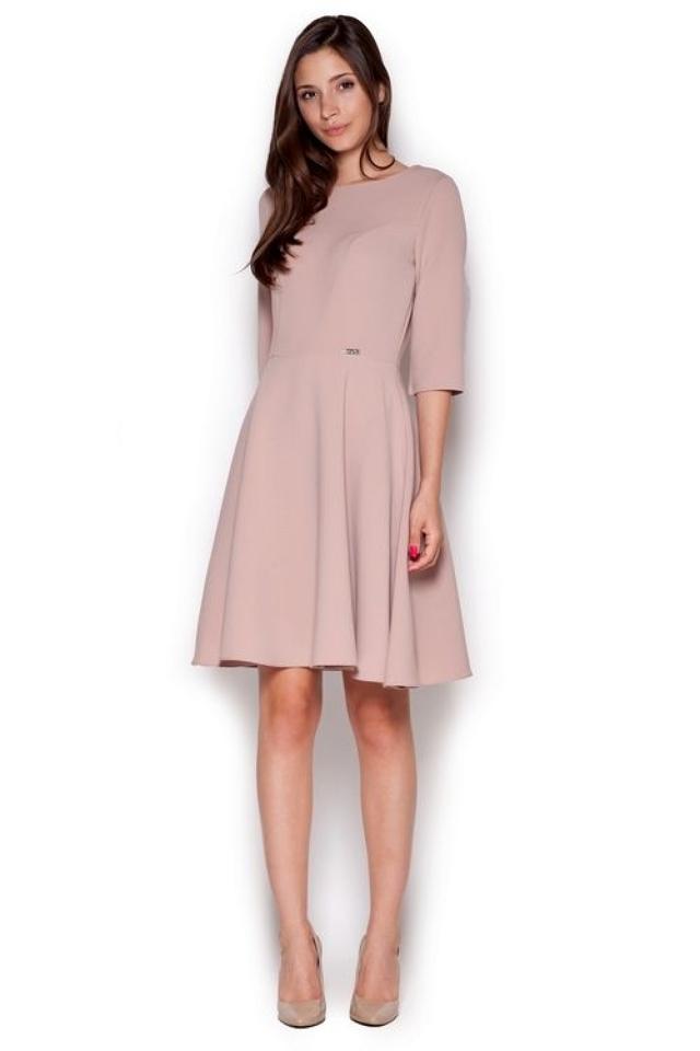 Dámské šaty M327 pink - S - růžová