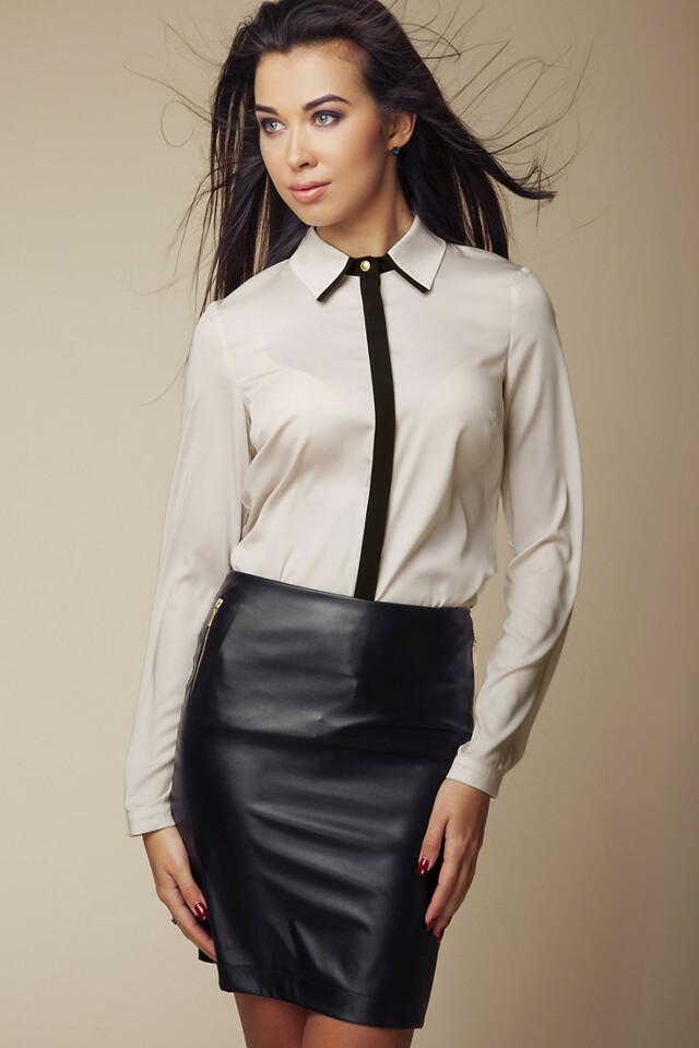 Dámská košile 036 béžová - Ambigante - L - béžová