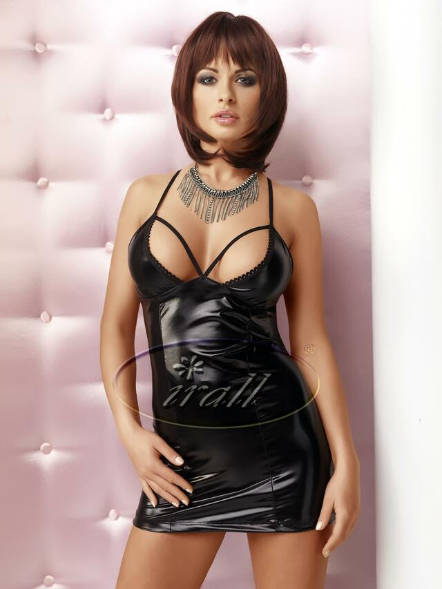Sexy šaty model 46730 - Irall Lexi - XL - černá