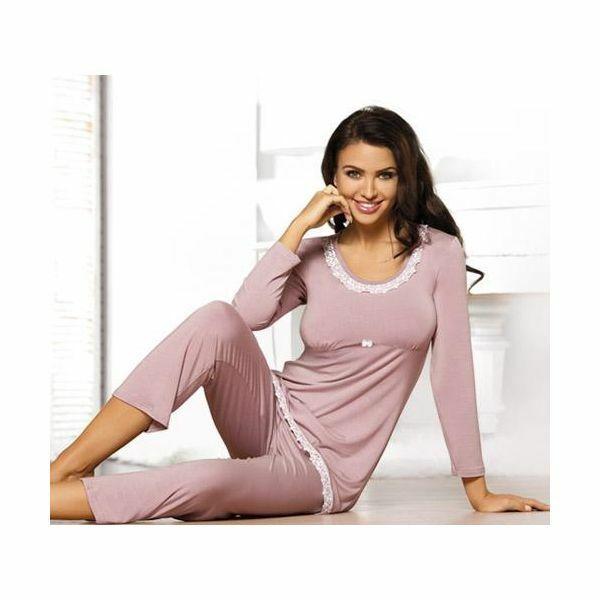 Dámské pyžamo Telia Babell - XL - granátová