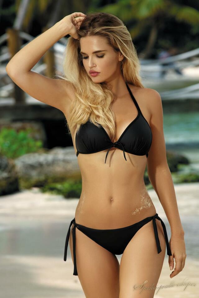 Dvoudílne plavky Kamila - Self - 42D - černá