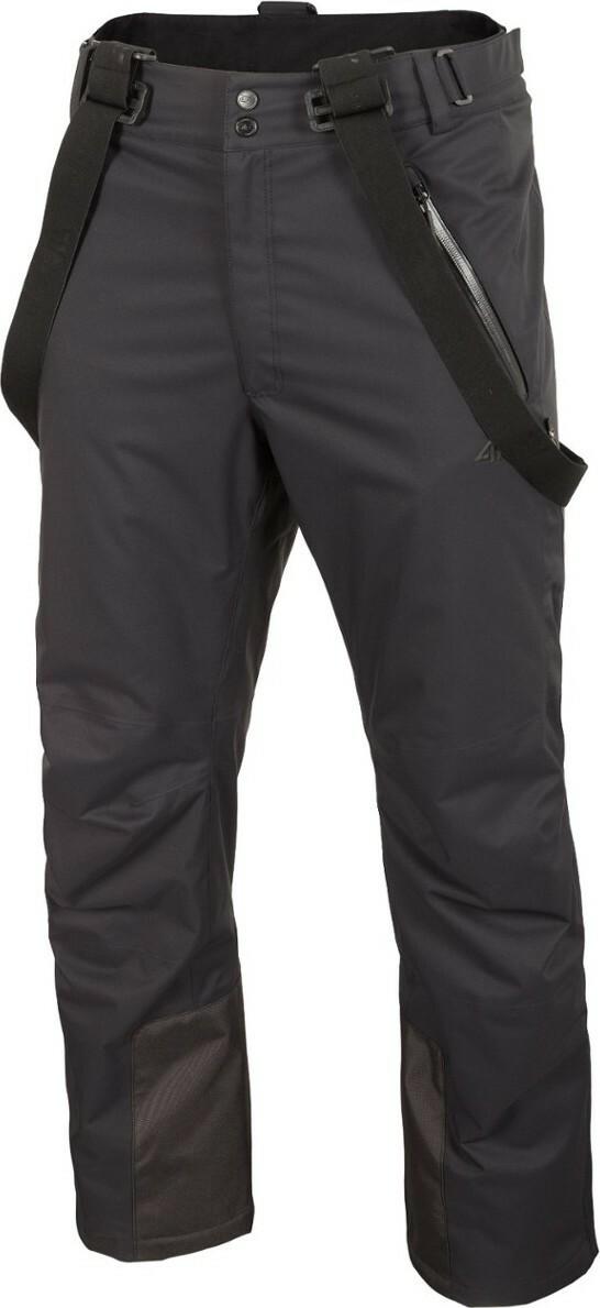 Pánské lyžařské kalhoty 4F SPMN012 Černé - L - Černá